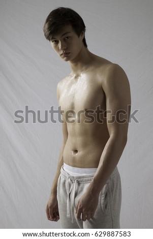 Katrina white stocking nude