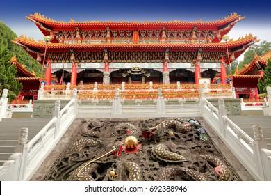 man mo temple in Taiwan