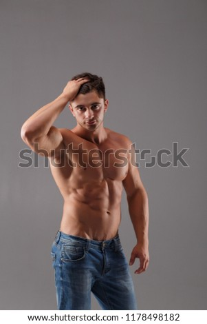 Hair man naked where