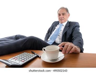 Man as an official, representative or reseller
