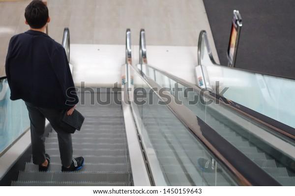 Man going down