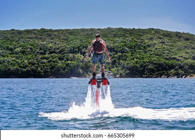 Man on Flyboard