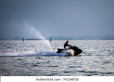 Man on jetski