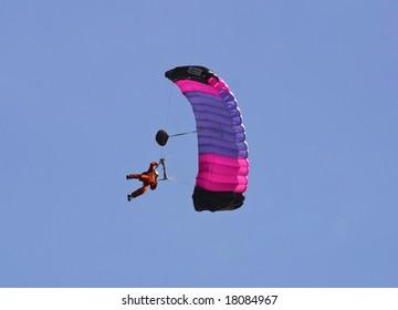Man on Parachute