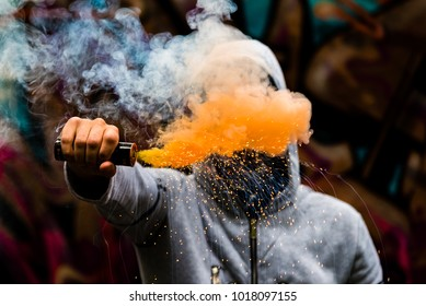 Smoke Grenade Images, Stock Photos & Vectors | Shutterstock