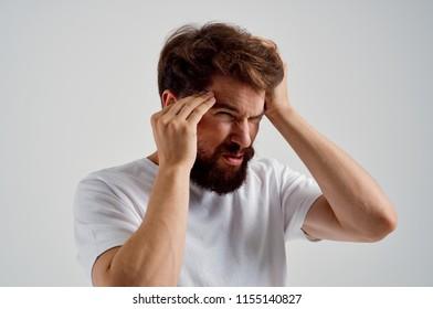 man pain emotions