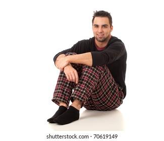 Man in Pajamas