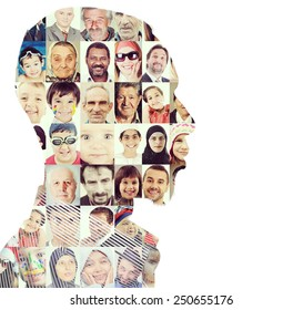 Man people human faces persons