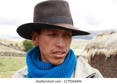 Man from the Peruvian Andes. February 2014, Ayacucho Peru