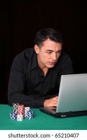 Man poker gambling on internet