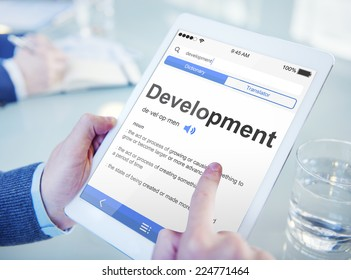 Man Searching for the Meaning of Development