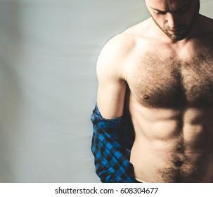 man with a shirt