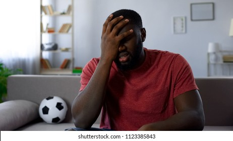 Man shocked by defeat of football team in competition, team leaving league