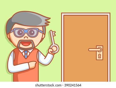 man show solution key