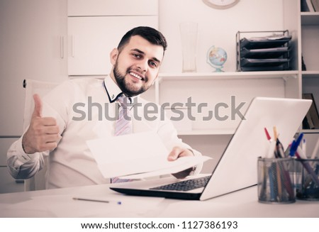 man signing agreement papers financial nature stock photo edit now