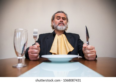 Man sitting at the table