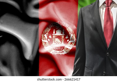 Man in suit from Afghanistan