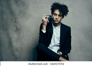 ddf2adf2f4715 Hair Men Model Stock Photos, Images & Photography | Shutterstock