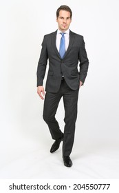 Man in suit and tie