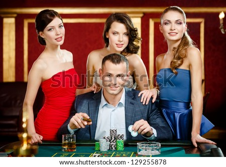 People roulette girl