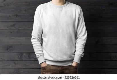 Man with sweatshirt