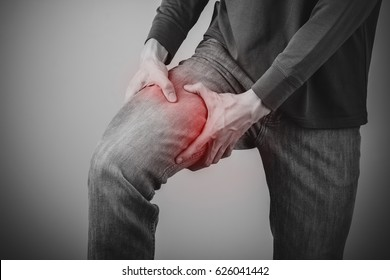 man thigh pain from cramp