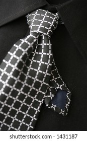 man tie and shirt