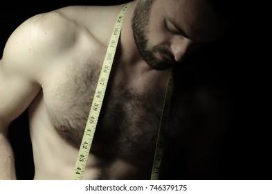 man with torso
