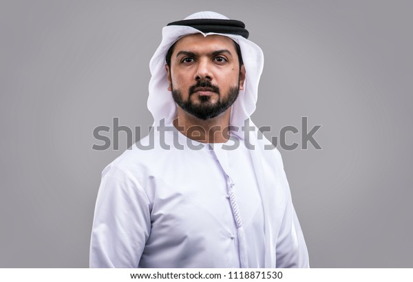 Man Traditional Clothes Dubai Stock Photo (Edit Now) 1118871530