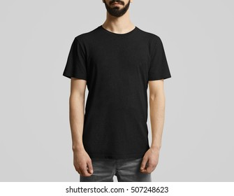 Man with t-shirt