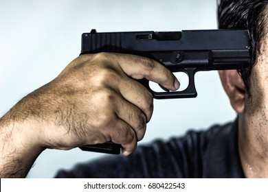 10678 Suicide Suicide Gun Images Royalty Free Stock Photos On