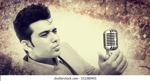Elvis Style Images Stock Photos Vectors Shutterstock