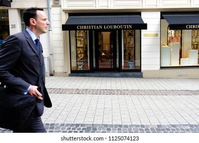 Christian Louboutin gradient