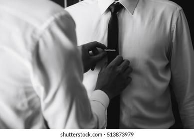 d7e03a55133f Tie-clip Images, Stock Photos & Vectors | Shutterstock