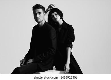 man and woman charm passion romance luxury