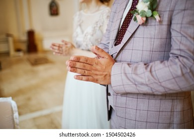 man and woman marry in a temple