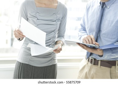 Man and woman with whom it consults