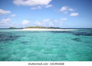 Mana Sand Beach, Fiji Island