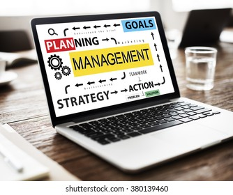 Management Organization Strategy Process Controlling Concept
