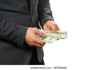 Manager counts cash. All for himself. Hide or share. Must concentrate.