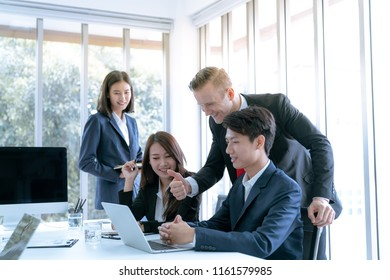 The manager encouraged admiration office workers who can do the work plan of the target company