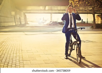 Manager's bike ride