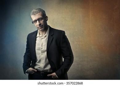 Manager's portrait