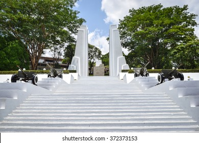 Managua, Nicaragua, May 8, 2015: Memorials to Nicaraguan revolutionary Augusto Sandino, who led the revolt against the US occupation of Nicaragua in 1933. General travel imagery for Nicaragua.