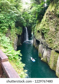 Manai Waterfall(MANAI-NO-TAKI) Miyazaki,Japan   Selected as one of Japan's Top100 Waterfalls.It's about 17m high. The Waterfall viewpoint on the footpath has the prettiest view.