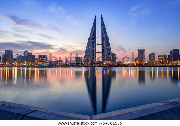 Manama Bahrain 10-Nov-2017. A Scenic View