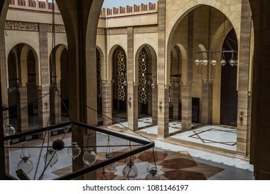 Manama, Bahrain - April 8, 2018: Al Fateh Grand Mosque