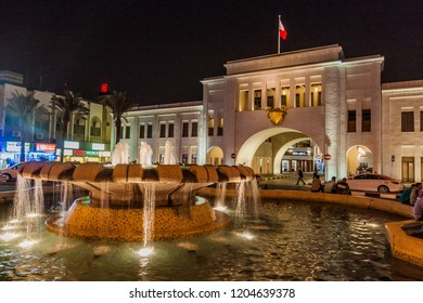 MANAMA, BAHRAIN - MARCH 15, 2017: Bab Al Bahrain (Gateway of Bahrain) in Manama