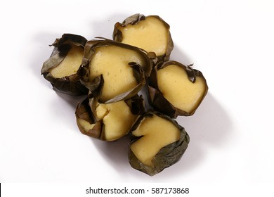 Manapla Puto or Steamed Rice Cake with Cheese is a popular Filipino Fare for coffee time fermented and with aroma of saba babana leaves. A popular homecoming gift or pasalubong for families.