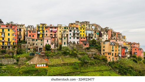 Manarola, Cinque Terre (Italian Riviera, Liguria) at twilight